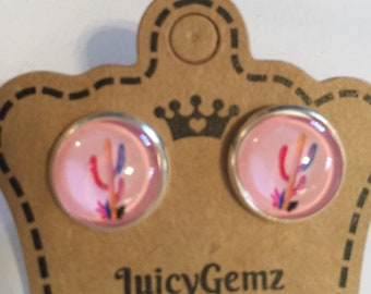Southern Saguaro stud earrings