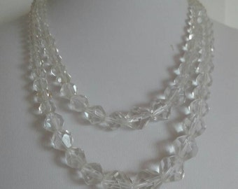 Vintage necklace with Crystal lights