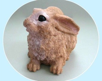 Easter Bunny Figurine Easter Rabbit Figurine Bunny Figure Rabbit Figure Bunny Decor Rabbit Decor Easter Bunny Rabbit Decor Bunny Decoration