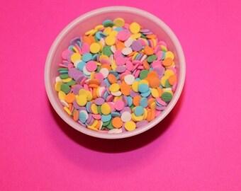Sprinkles - Tiny Pastel Confetti Sprinkles