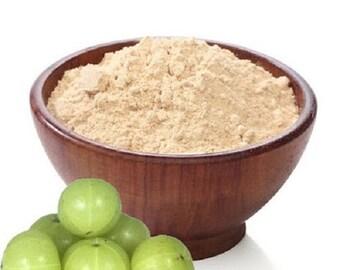 Dried Amla powder , Indian Gooseberry powder Phyllanthus emblica amalika herb Best Quality