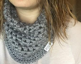 Adult puff stitch scarf