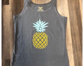 Pineapple Tank Large
