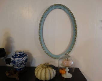 Oval Vintage Frame,Shabby cottage, French Country, Romantic home