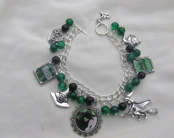 Wicked The Musical Charms Bracelet