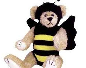 Vintage TY Attic Treasures: BEEZEE the Bumble-Bear 1993  MINT Condition
