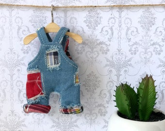 Denim overalls for mui chan