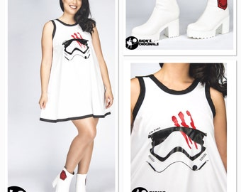 First Order FN2187 Dress & Boots