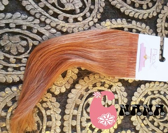 "light red tape human hair Extensions hair extension, band European hair Extensions, 15 "", skin/glue"