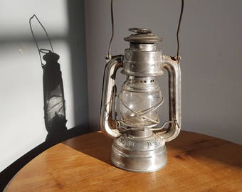 Vintage Hurricane lamp Frowo No. 50 1940. Germany. Vintage.