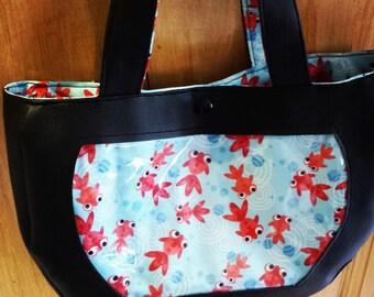 Handbag pattern aquarium
