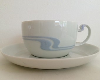 Rosenthal Asimmetria Teaset .Sleek and Elegant