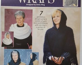 Crochet Fashion Wraps Instruction Booklet