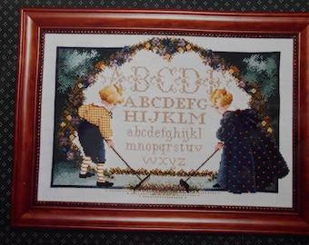 Children's Garden cross stitch pattern