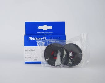 Set of Two Original Quality Pelikan Ribbon for Olivetti Typewriter