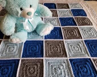 Crochet Baby, Throw, Lap Blanket