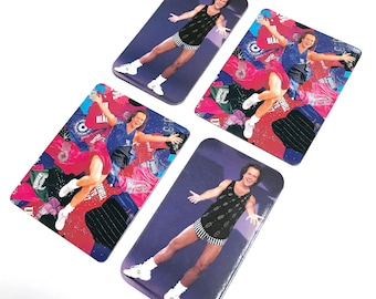 Richard Simmons Set of 4 Vintage Magnets