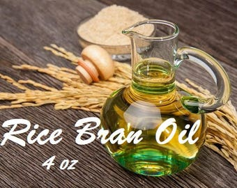 FREE Shipping & BLOWOUT Sale 50% Off Rice Bran Oil 4 Or 16 Ounce Bottle DETAILS in Description