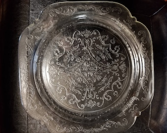 Vintage Indiana Glass Plate