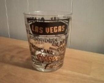 Vintage Las Vegas On The Rocks Glass