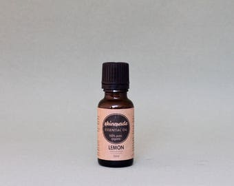 LEMON pure organic essential oil 20ml