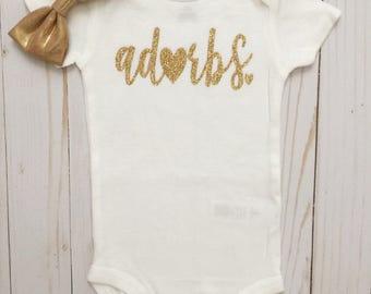 Adorbs Bodysuit - Adorbs•Totes adorbs•Baby Bodysuit •Adorbs Bodysuit•Babyshower Gift• New Baby•