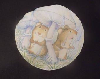 Cute Hamster Fridge Magnet
