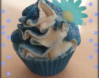 Gardenia Cupcake soap  -  vegan soap, gift, holiday gift, stocking stuffer, Christmas gifts
