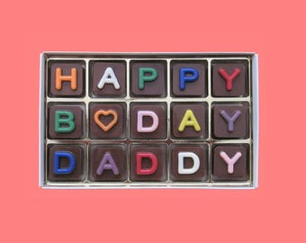Dad Birthday Gift for Dad 60th 70th B Day Gift Idea for Father In Law Birthday Gift Sweet Sugar Daddy Gift Birthday Party Favors Chocolate