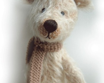 SCOOTER OOAK artist bear epattern by Jenny Lee of jennylovesbenny bears