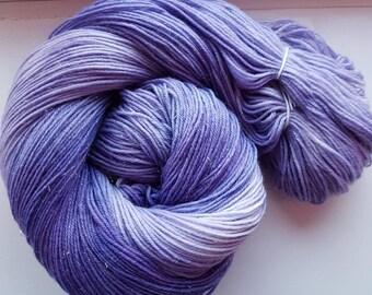Sparkle sock yarn - Glitterball merino sock yarn - merino nylon stellina mix sock yarn sock wool