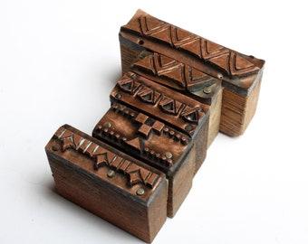 tiny ART DECO Borders 1903-1953 Antique GERMAN Copper Letterpress Cut printing block