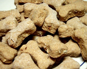 Organic Dog Treats - Peanut Butter Poppers - Gourmet Dog Treats All Natural Vegetarian - Shorty's Gourmet Treats