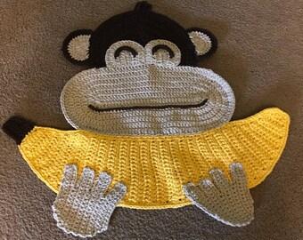 Chip the chimpanzee rug.