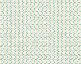 Fabric, coupon, 50 x 55 cm, teal yarn, TILDA, (Code: 480819), patchwork, clothing