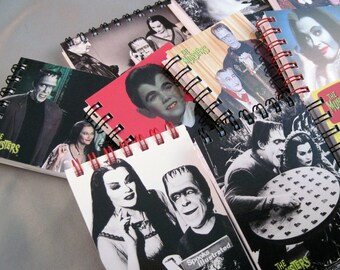 The Munsters Recycled Mini Notebook