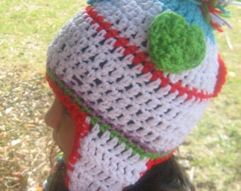 Crochet Earflap Hat Perfect for Cold Season