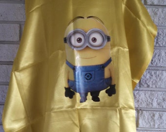 Yellow Minion Inspired Cape