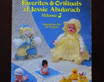 Crochet, Crochet Patterns, How to crochet, Crochet Favorites and Originals of Jessie Abularach Vol. 5