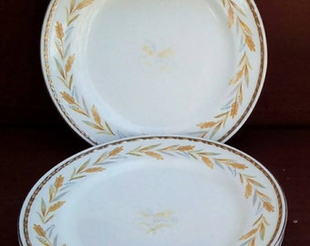 Vintage Homer Laughlin Georgian Eggshell, Bread and Butter Plate, Fine China, Plates