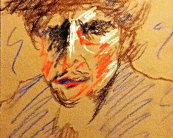 Book Illustration - Bob Dylan