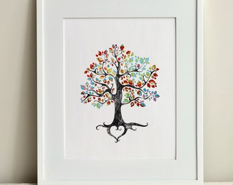 INSTANT DOWNLOAD / The Bohemian Tree / Instant Wall Art or Home Decor Gift / Digital File