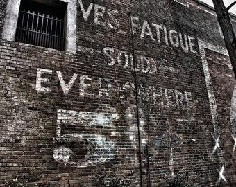 Urban Historic Photography Coca Cola Advertisement Asheville