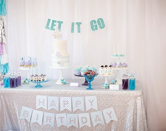 Frozen Birthday Party Package- Printable