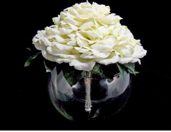 Bridal White Glamelia Bouquet