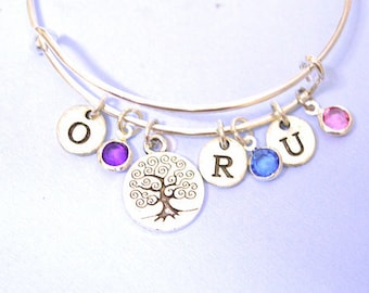 Mother personalized gift, Mothers day gift, gift for mom mum mother, Mother jewelry,mother personalized Bracelet,mom gift,gift from daughter