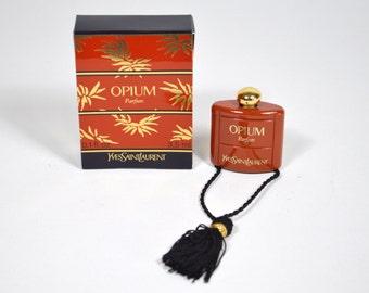 Brooch Perfume in miniature OPIUM de Yves Saint Laurent 3.5 ml pin