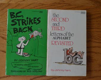 1970's b.c. Humor Books by Johnny Hart