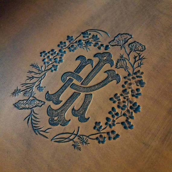 Custom Carving Examples, Deposit on Hand Carved Piece