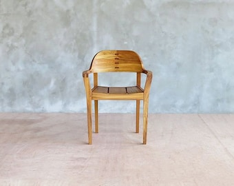 Mid Century Modern - Teak - Armchair - midcentury - Side End Desk - Set of Dining Chairs - Danish Modern - Handcrafted Hardwood Furniture